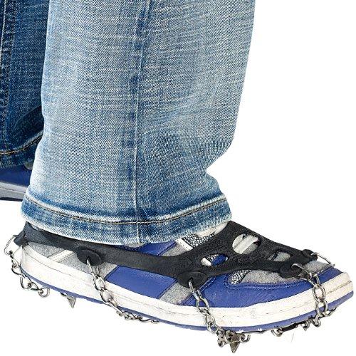 Semptec Urban Survival Technology - Cadenas de Nieve para Zapatos: 1 par de Cadenas para Todos los Zapatos, Talla 35 – 43 (Cadenas de Zapatos)
