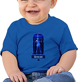 Doctor Who Crystalline Tardis Baby T-Shirt One-Piece Baby Bodysuit Sleeveless Onesies