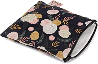"""Chelsea + Cole For Itzy Ritzy Reusable Snack Bag; 7"""" x 7"""" BPA-Free Snack Bag is Food Safe, Washable & Ideal For Storing Sn..."""