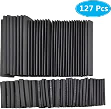 MCIGICM 127pcs Heat Shrink Tubing 2:1, Waterproof Electrical Wire Cable Wrap Assortment Electric Insulation Heat Shrink Tube Kit (7 Sizes)