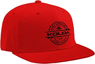 Koloa Surf Premium Embroidered Thruster Logo Snap-Back Hat
