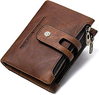ゴフエルト 財布 サイフ メンズ レディース 牛革 二つ折り 本革 小銭入れ ポケット×2 カード18枚収納 大容量 日本製 ラウンドファスナー ビジネス ギフト