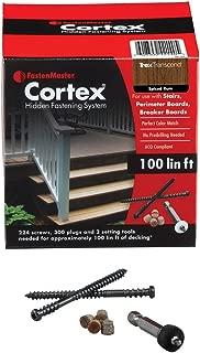FastenMaster Cortex Hidden Fasteners -Trex Transcend Spiced Rum 100 Lin.ft