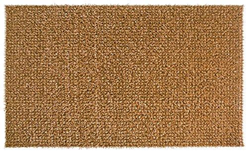 AstroTurf Classic Fußmatte, Fußabstreifer Eingangsmatte für Innen- und Außenbereich, Unvergleichliche Reinigungsleistung, Polyethylen, Kokos Braun, 60x40x2 cm