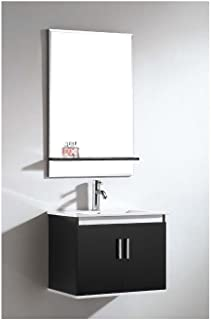 Dawn UN7808-06 Vanity Set with Sink Top, Cabinet and Mirror