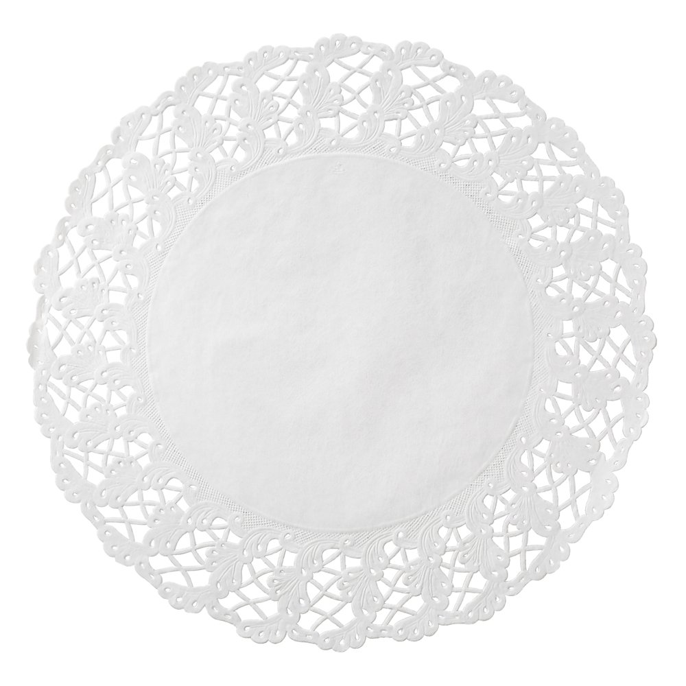 Hoffmaster 500260 Kenmore supreme Lace Round White 16.5