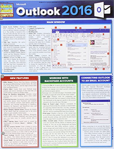 Microsoft Outlook 2016 (Quick Study Computer)