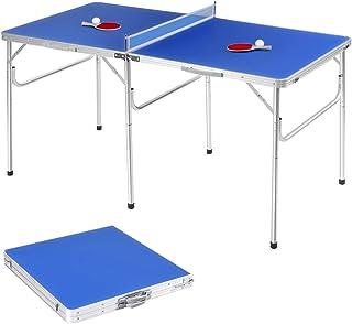 d9ed164ff683c GOPLUS Table de Ping Pong Tennis Table Convients aux Enfants et  Adultes,Facile à Assembler