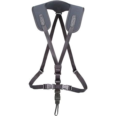Neotech Super Harness, Black, X-Long, Loop Attachment Saxophone Strap (2601272)