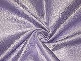 Brokatstoff Lavendel & Silber Farbe Hobbys, Heimdekoration,
