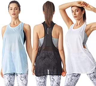 Womens Sports Tank Tops - Activewear for Sports Workout Clothes Fitness Racerback Tank Tops