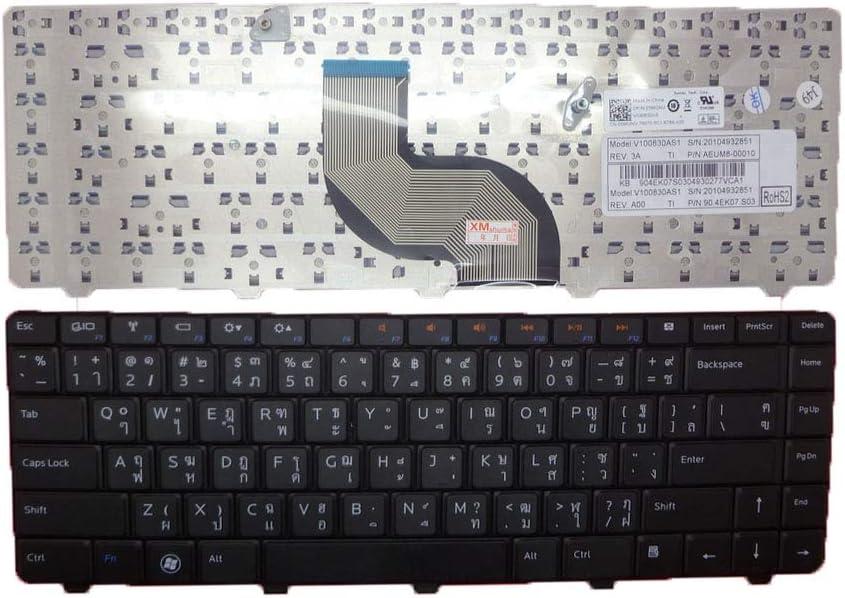 Laptop Keyboard for DELL Inspiron 13 N3010 14 M4010 N4020 N4030 14R N4010 15 N5030 M5030 TI Thailand 06MGNV 6MGNV AEUM8-00010 90.4EK07.S03 V100830AS1 New