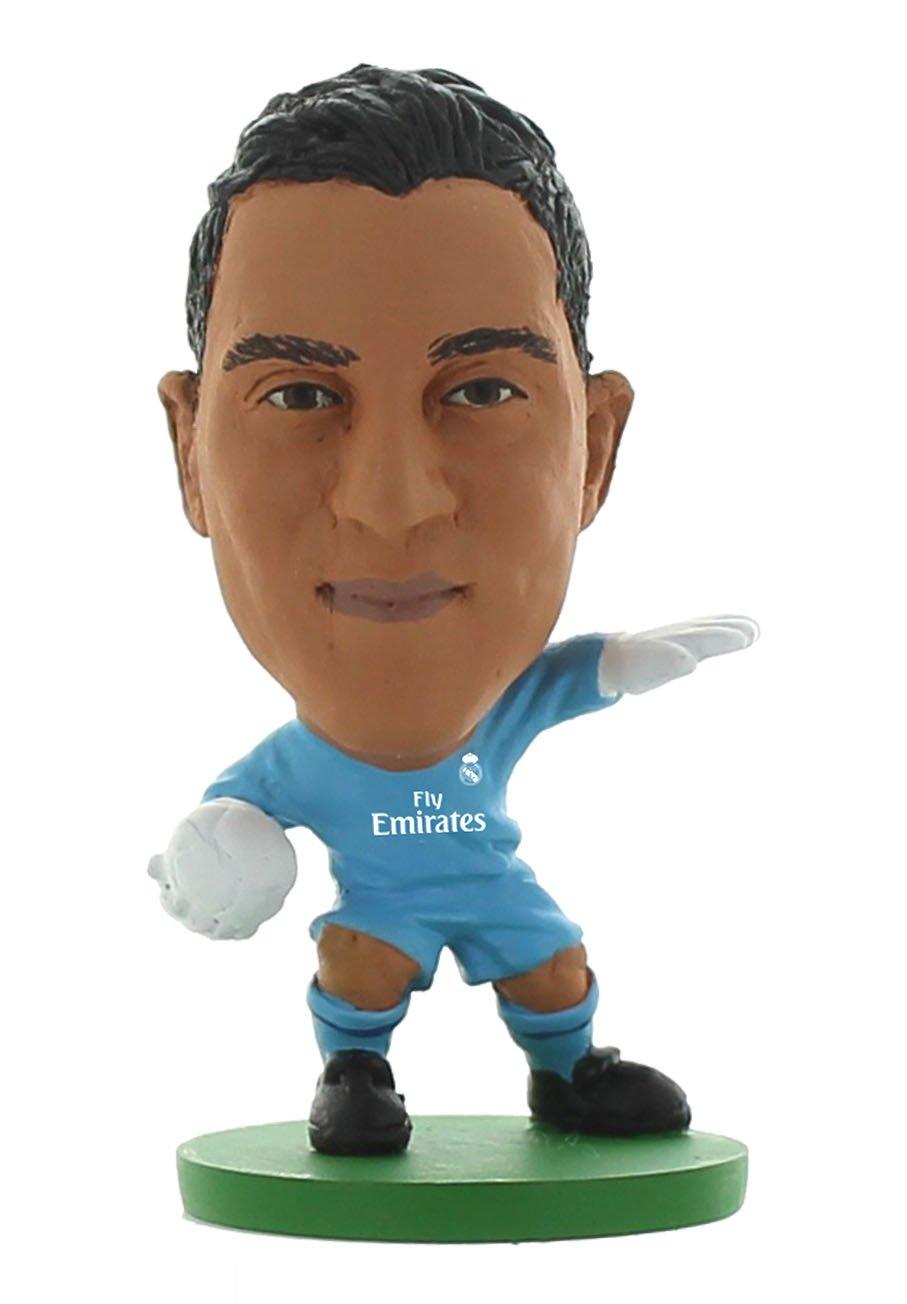 Soccerstarz SOC1106 - Kit de hogar para Keylor Navas del Real Madrid 2017: Amazon.es: Juguetes y juegos