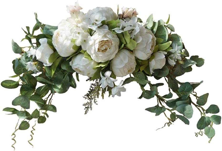 Wedding Arch Flowers 30 Store Inch Swag excellence Floral Rustic for Artificial