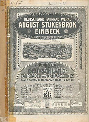 Deutschland-Fahrrad-Werke August Stukenbrok Einbeck.