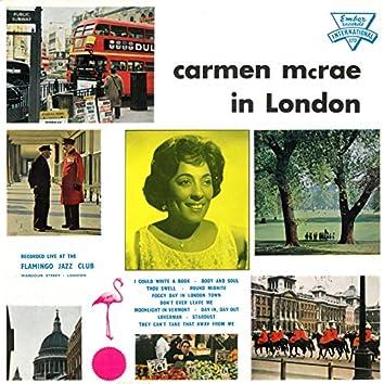 Carmen McRae in London