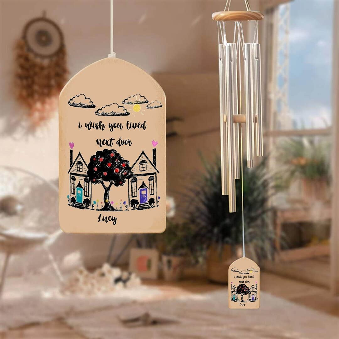 Jasmina Personalized At the price I Wish You Lived with Wind NEW Chimes Door Next