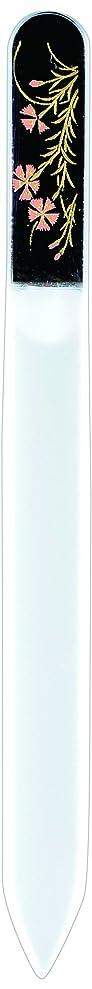 プレミアム機動致命的な橋本漆芸 ブラジェク製高級爪ヤスリ 七月 朝顔 紙箱
