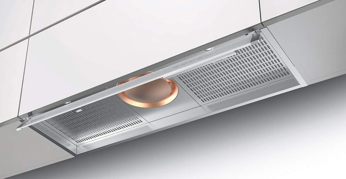 Faber ILMA TOUCH X A120 - Campana extractora (120 cm, acabado en acero inoxidable): Amazon.es: Grandes electrodomésticos