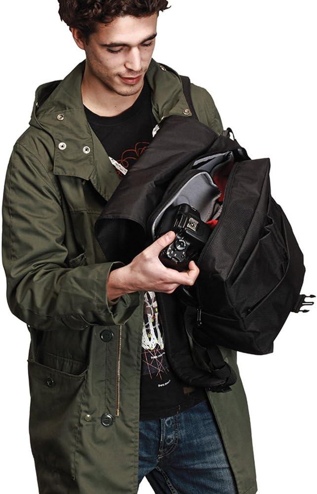 Manfrotto MB SV-BP-30BB Bravo 30 Rucksack f/ür Kamera schwarz