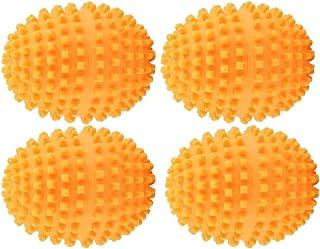 Zerodis Balles de Lavage Machine a Laver Boules de Séchage Accessoires Étendoirs pour Buanderie Maison Ensemble de 4