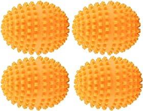 【𝐁𝐥𝐚𝐜𝐤 𝐅𝐫𝐢𝐝𝐚𝒚】Wocume-torkar-kulor, orange återanvändbara torkade kulor, tvättorkande kula för huvudplagg tvätta...