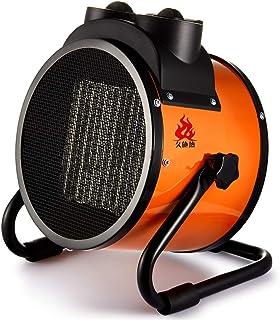 XF Calefactores y radiadores halógenos Calentador-Calentador de aire portátil industrial especial, calefacción de cerámica, termostato autónomo, secador portátil, 5000 vatios, negro Climatización y ca
