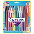 Paper Mate Flair Felt Tip Pens | Medium Point 0.7 Millimeter Marker Pens | Back to School Supplies for Teachers & Students | Assorted Colors, 24 Count