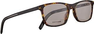 Christian Dior Homme Blacktie253 Eyeglasses 53-18-150 Yellow Red Havana w/Demo Clear Lens EPZ Blacktie 253 BlackTie253