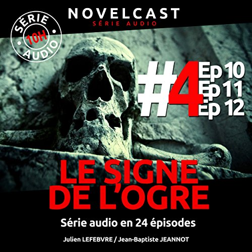 Le signe de l'ogre 4 audiobook cover art