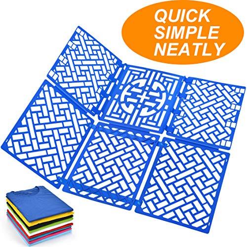 PetOde Folding Board t Shirts Clothes Folder Durable Plastic Laundry folders Folding Boards flipfold