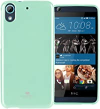 GOOSPERY Pearl Jelly for HTC Desire 626s Case with Screen Protector Slim Thin Rubber Case (Mint) HTCDS626-JEL/SP-MNT
