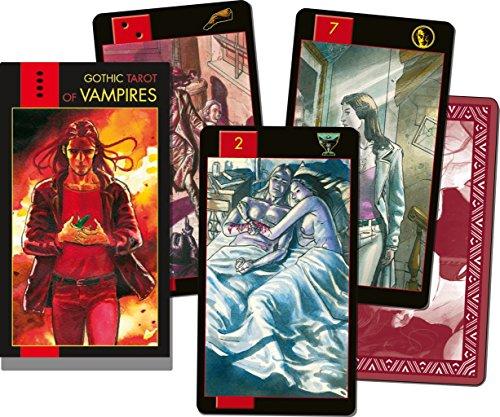Lo Scarabeo - Karten: Gothic Tarot of Vampires Verkaufskarton