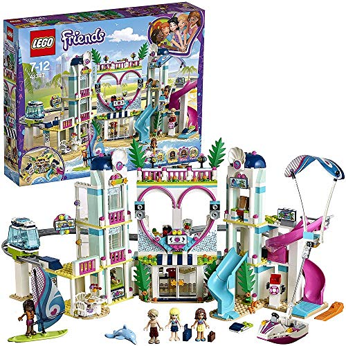 LEGO- Friends Il Resort di Heartlake, Multicolore,...