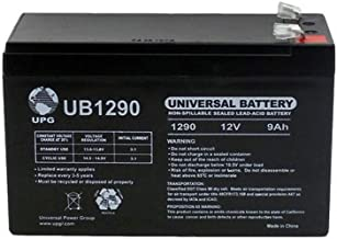 Universal Power Group 12V 9AH Replacement Battery for Nightsearcher NS750 LED + 12V 1Amp Charger