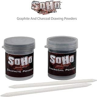 SoHo Urban Artist Graphite and Charcoal Drawing Powders - 15 Grams