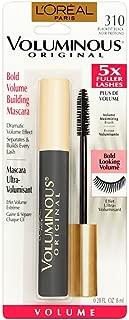 L'Oreal Paris Makeup Voluminous Original Volume Building Mascara, Blackest Black, 0.28 fl. oz.