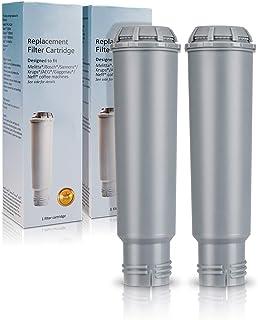 Cartouche Filtrante pour Krups Claris F088 machines à café, Homegoo Filtres à eau compatible avec Melitta, Nivona NIRF-700...