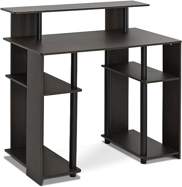 Furinno 15071WNBK Computer Writing Desk Walnut
