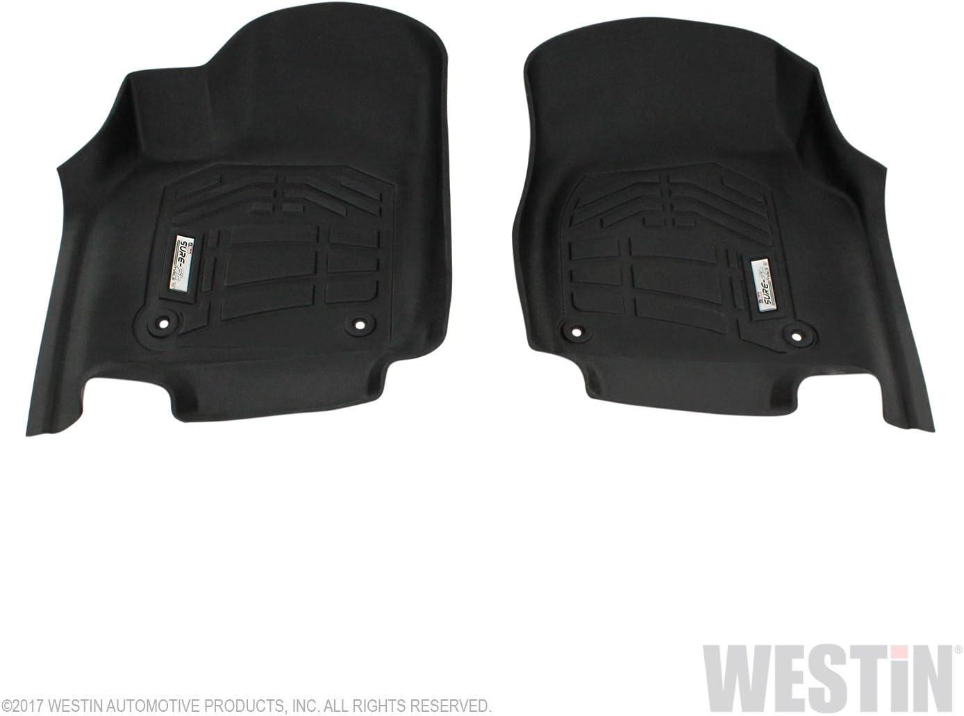Westin Automotive Product 72-110094 Max 85% OFF Black Pack 1 Popular overseas Floor Mat