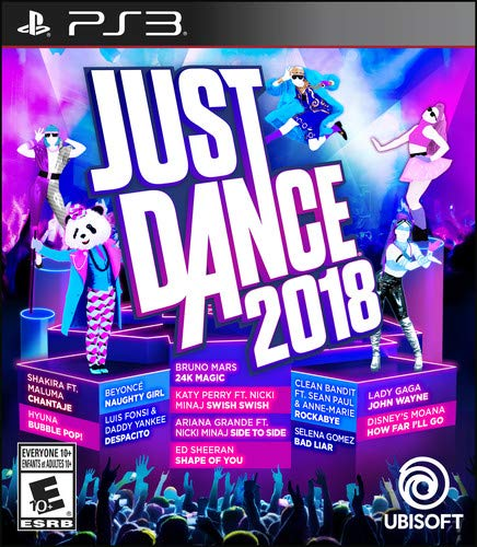 Just Dance 2018 - PlayStation 3