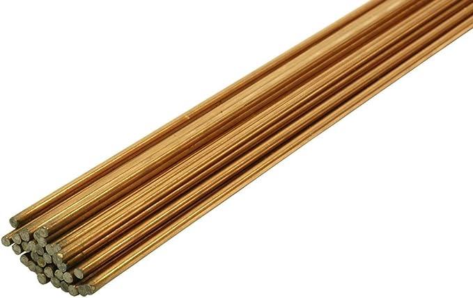 10, 1,6 mm Tiges de remplissage en acier doux TIG ER70S A18 1 m de longueur 1,6//2,4//3,2 mm