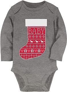 Tstars Christmas Baby Outfit for Newborn - 24M Boy Or Girl Baby Long Sleeve Bodysuit