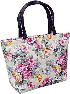 Wultia - Bags for Women 2019 Women Girls Printing Canvas Shopping Handbag Shoulder Tote Shopper Bag Luxury Handbags *0.92 White
