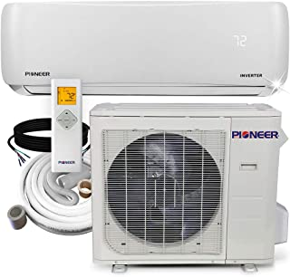 Pioneer Air Conditioner Pioneer Mini Split Heat Pump Minisplit Heatpump, 24000 BTU-208/230 V