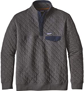 Patagonia Men's Cotton Quilt Snap-T Pullover - Forge Grey - XX-Large