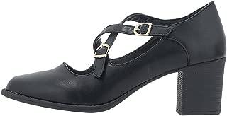Nikki Me Office Heel Shoes for Women - Black Size 39 EU