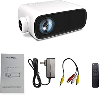 Mini Projector,Portable Projector for iPhone,Outdoor Movie Projector, LED Pico Video Projector for Home Theater Movie Proj...