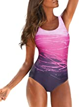 American Trends Women's One Piece Swimsuits for Women Athletic Training Swimsuits Swimwear Bathing Suits for Women