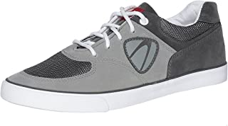 Duke Men Grey, Black and White Casual Shoes